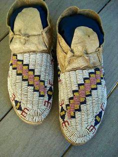 Lakota moccasins