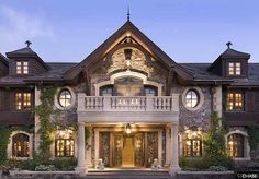 dream homes pictures | Luxury House Plans, Luxury Style Homes, Large House Plans, Luxury