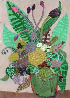 ''queen of the night tulip'' by Liz Innvar