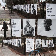 regram @enoughpie Eastside Matters by @JackAlterman at Columbus  America in the #Eastside of #charleston #communityengagement #stoptheviolence #chsart #charlestongood