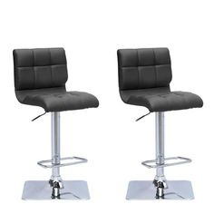 Looking for CorLiving Adjustable Barstool Black Bonded Leather, set 2 ? Check out our picks for the CorLiving Adjustable Barstool Black Bonded Leather, set 2 from the popular stores - all in one. Leather Swivel Bar Stools, Leather Bar Stools, Adjustable Bar Stools, Leather Seats, Upholstered Bar Stools, Black Bar Stools, Space Furniture, Apartment Furniture, Furniture Ideas