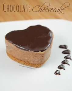 Chocolate Cheesecake Recipe- A sinfully delicious valentine treat!