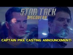 (8) BREAKING NEWS: Star Trek: Discovery Casts Enterprise Captain Pike! - YouTube