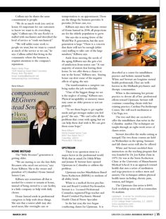 Emerging Companies | Greater Columbia Business Monthly | March 2013