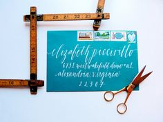 Calligraphy Addressing for your Wedding Invitations