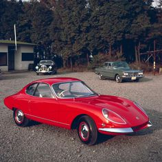 Nissan Prince Sprint 1900 Prototype, 1963 - links to photos of 50 years of Japanese concept cars Nissan Skyline, Nissan Figaro, Nissan 370z, Classic Japanese Cars, Classic Cars, My Dream Car, Dream Cars, Toyota, Automobile