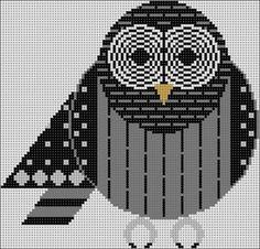 owl by Charley Harper