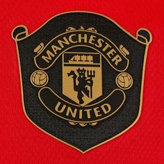 RARE Manchester United MUFC Football Soccer Old Trafford Iron Sew On Patch Badge
