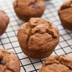 Vegan Banana Muffins - Feel free to add in whatever you like. This recipe is very adaptable. You can freeze leftovers for breakfast during the week! - Produce On Parade Spiced Cauliflower, Cauliflower Soup Recipes, Healthy Dog Treats, Healthy Desserts, Vegan Sweets, Dog Recipes, Vegan Recipes, Muffin Recipes, Salads