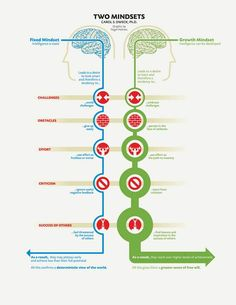 The Two Mindsets and the Power of Believing That You Can Improve http://time.com/3765563/carol-dweck-two-mindsets/