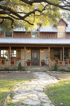 As seen on HGTV's Fixer Upper. That porch though!