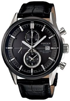 Casio Men's Edifice EFB503SBL-1AV Black Leather Quartz Watch with Black Dial Casio,http://www.amazon.com/dp/B009PQ8V5G/ref=cm_sw_r_pi_dp_kHdBsb0EC2KN4E02