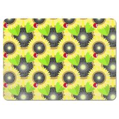 Uneekee Sunflowers and Ladybugs Placemats