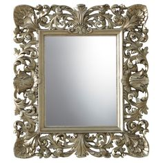 This vintage gold mirror adds a touch of period glamour to your room without the fuss. #mirror  http://bq.co.uk/LDn0is