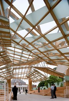 Serpentine Gallery Pavilion 2008  Designed by Frank Gehry  © Gehry Partners LLP 2008  Photograph © Iwan Baan 2008