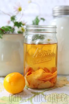 Infusing Vodka for Meyer Lemon Limoncello
