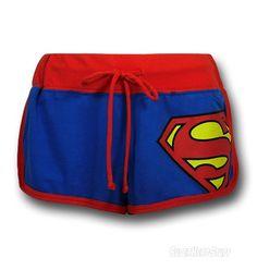 Images of Superman Juniors Short Shorts