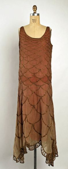 Dress Madeleine Vionnet, 1926 The Metropolitan Museum of Art As a pisces I love the mermaid quality
