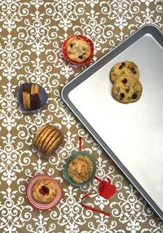 """""""25 ways to spice up refrigerated cookie dough -- Easy ways to dress up store-bought sugar-cookie dough. Ideas range from Lemon Blueberry Cookies to Toffee-Coffee Crisps to Rum Snaps."""""""