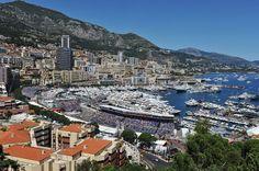 Monaco on Formula 1 race day...