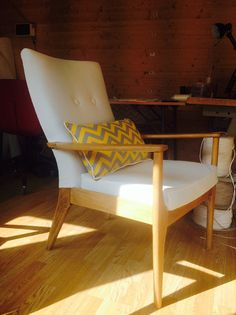 Vintage Mid Century Parker Knoll chair by ApplebyUpholstery