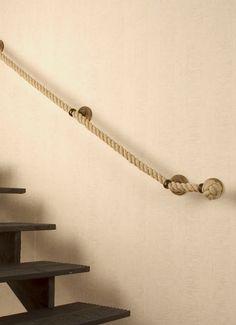 Pasamanos de cuerda