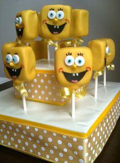 Character Cake Pops. $24 per dozen http://www.etsy.com/listing/79381904/character-cake-pops