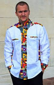 "Résultat de recherche d'images pour ""veste en pagne africain pour femme"" African Print Shirt, African Print Dresses, African Fashion Dresses, African Dress, African Inspired Fashion, African Print Fashion, Africa Fashion, African Shirts For Men, African Clothing For Men"