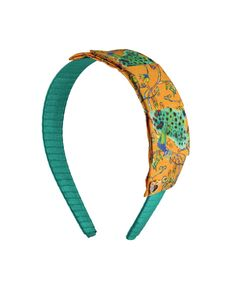 Headband by Sereni & Shentel 2013 Limited Edition Artist Series by Zoë Paterson - Peacock. Made in Borneo.