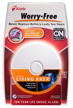 One Florida reader will win a Kidde 10-year, worry free smoke alarm from The Happy Housewife (giveaway ends 2/27/15)