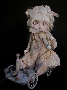 Custom Blythe doll style « Quenotte » OOAK. Toffee doll entirely customized ...    intermundisleblogdejulienmartinez.blogspot.com