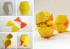 Aprender Brincando: Ideias com caixa de ovos para Educação Infantil!!