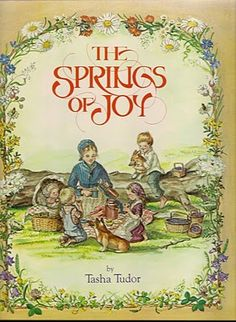 I have had this book for many years.  I love Tasha Tudor's illustration.....beautiful art.  Pauline MS