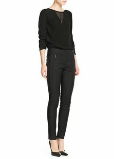 Mango - Pocket trousers #SS14 #New