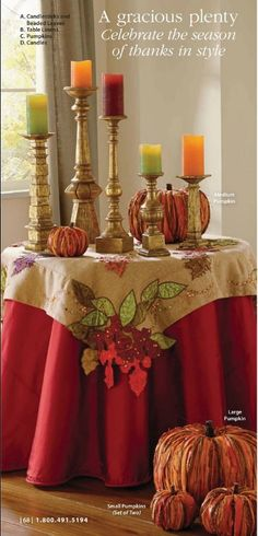 #thanksgiving #table #decor #grandinroad