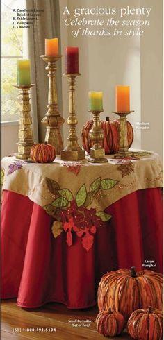 #thanksgiving #table #decor #grandinroad
