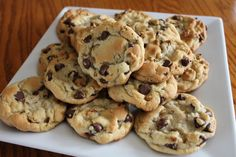 pink peppercorn: chocolate chip cookies.