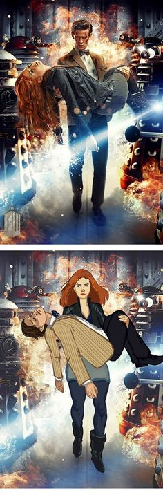 Amelia Pond..and her raggedy man.