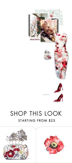 """""""Beautiful people don't just happen"""" by blonde-bedu ❤ liked on Polyvore featuring Alexander McQueen, Dolce&Gabbana and Piel Leather"""