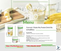 Herbalife Shop, Herbalife Products, Herbalife Nutrition, Protein Drink Mix, Protein Sources, Vitamins And Minerals, Weight Loss Program, Benefit, Menu