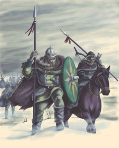 Vandals crossing the Rhine, 406AD by Popius on DeviantArt