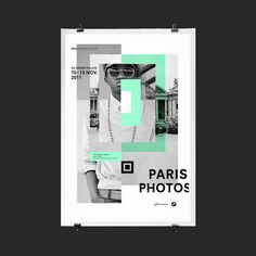 Les Graphiquants for Paris Photo. Or is it a QR code?
