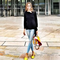 The Affordable Jeans Olivia Palermo Loves
