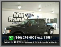 2011 Ford F-150 Lariat Pickup  Overall Width: 79.2, Digital Audio Input, Type Of Tires: At, Front Fog/Driving Lights, Radio Data System, Three 12V Dc Power Outlets, Abs