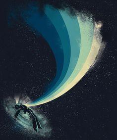 Poster | SELF-DESTRUCT von Jay Fleck | more posters at http://moreposter.de