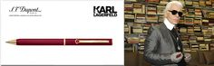 karl lagerfeld pen dupont borealy luxury gift