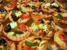 La Difference Catering: Greek Salad Tartlettes