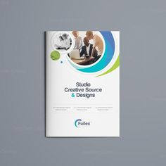 This elegant and well organized bi-fold business brochure template is in PSD format. It's ready to print. The business brochure Bi Fold Brochure, Brochure Cover, Business Brochure, Brochure Template, Ppt Template, Broucher Design, Page Design, Flyer Design, Graphic Design