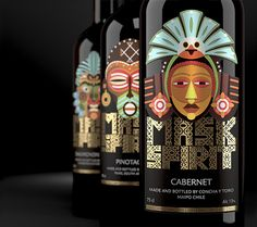 Mask Spirit: Collection of New World Wines