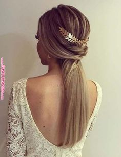 Wedding Invited Hairstyle I Top 18 Simple and Chic Wedding Hairstyles to Adopt Morgane Lr Coiffure mariage invitée I Top 18 coiffures mariage simple et chic à adopter свадебные прически Chic Hairstyles, Ponytail Hairstyles, Ponytail Ideas, Beautiful Hairstyles, Fast Hairstyles, Medium Hairstyles, Unique Hairstyles, Short Hair Cuts, Short Hair Styles